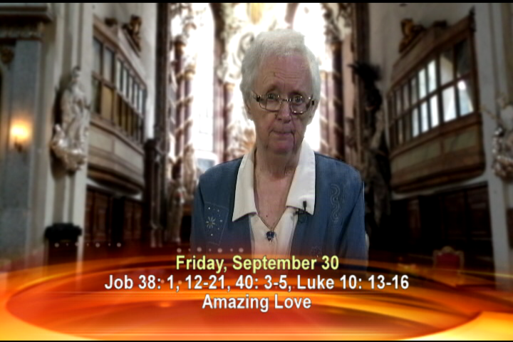 Artwork for  Friday, September 30, 2016 Today's topic: Amazing love