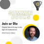 Artwork for Join or Die, Digital Advertising in the age of Automation by Patrick Gilbert - Summer Books