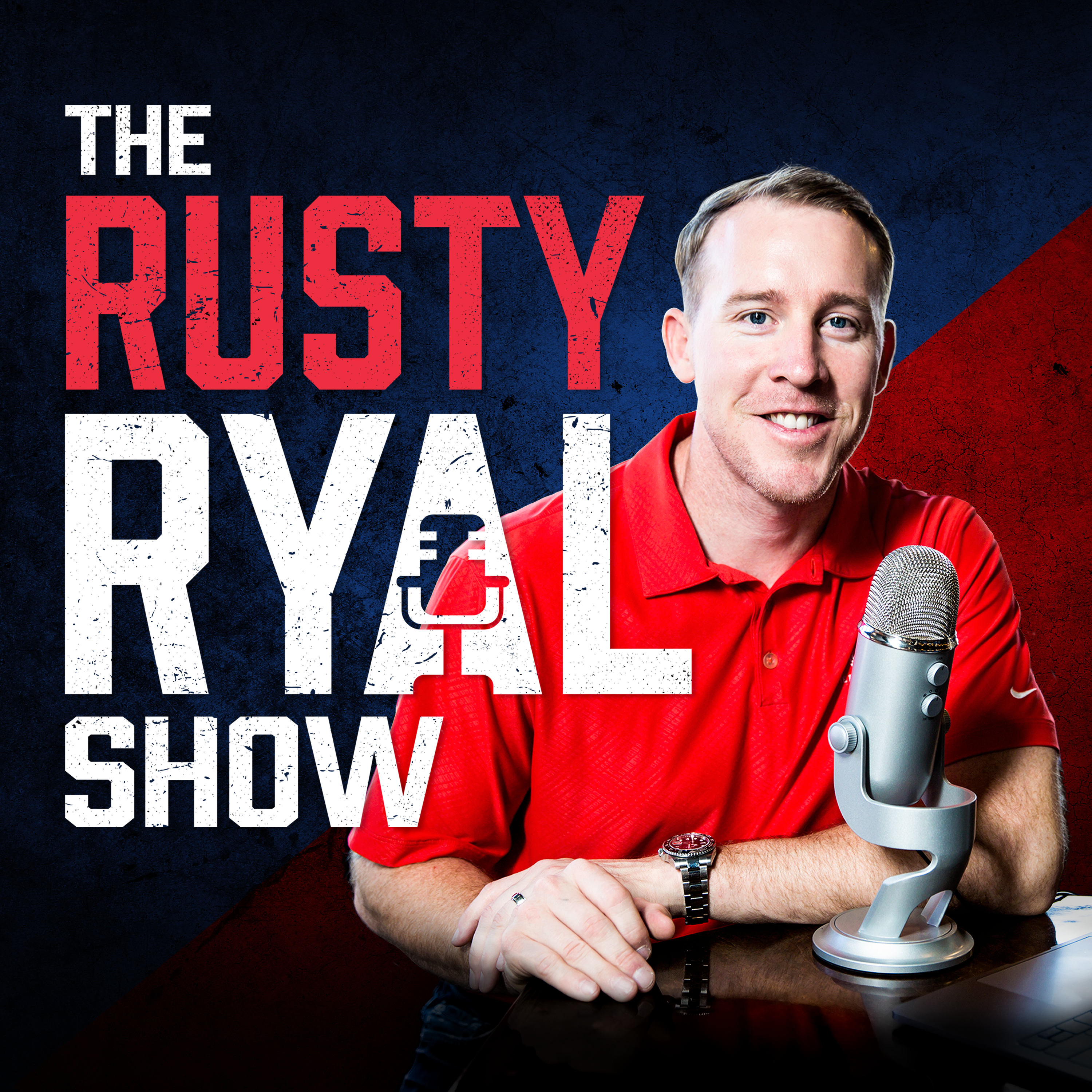 The Rusty Ryal Show show art