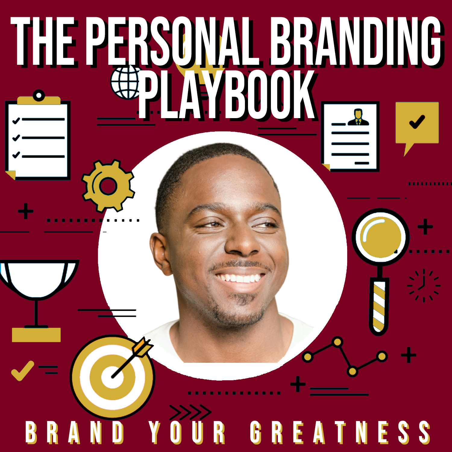 The Personal Branding Playbook show art