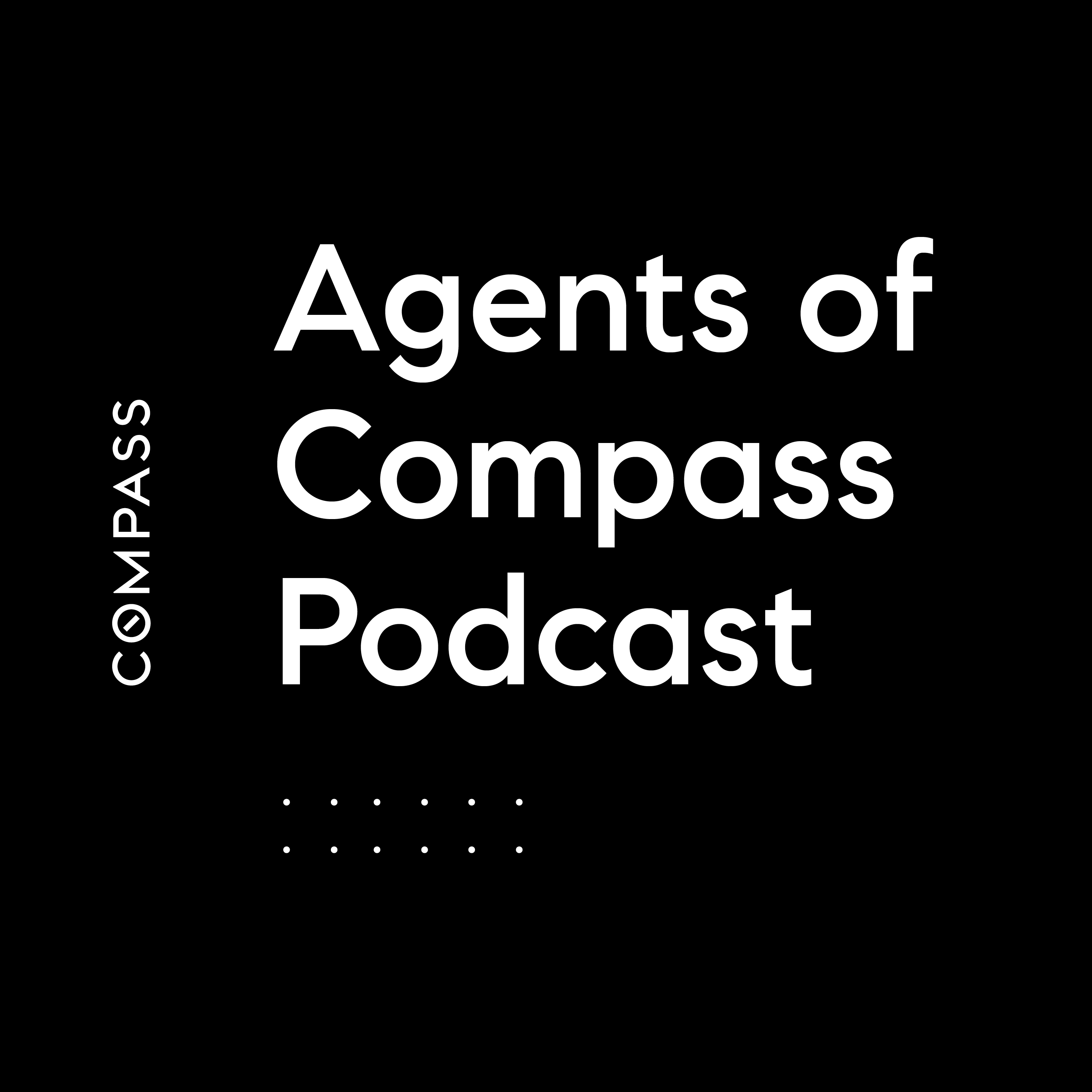 Agents of Compass Podcast show art