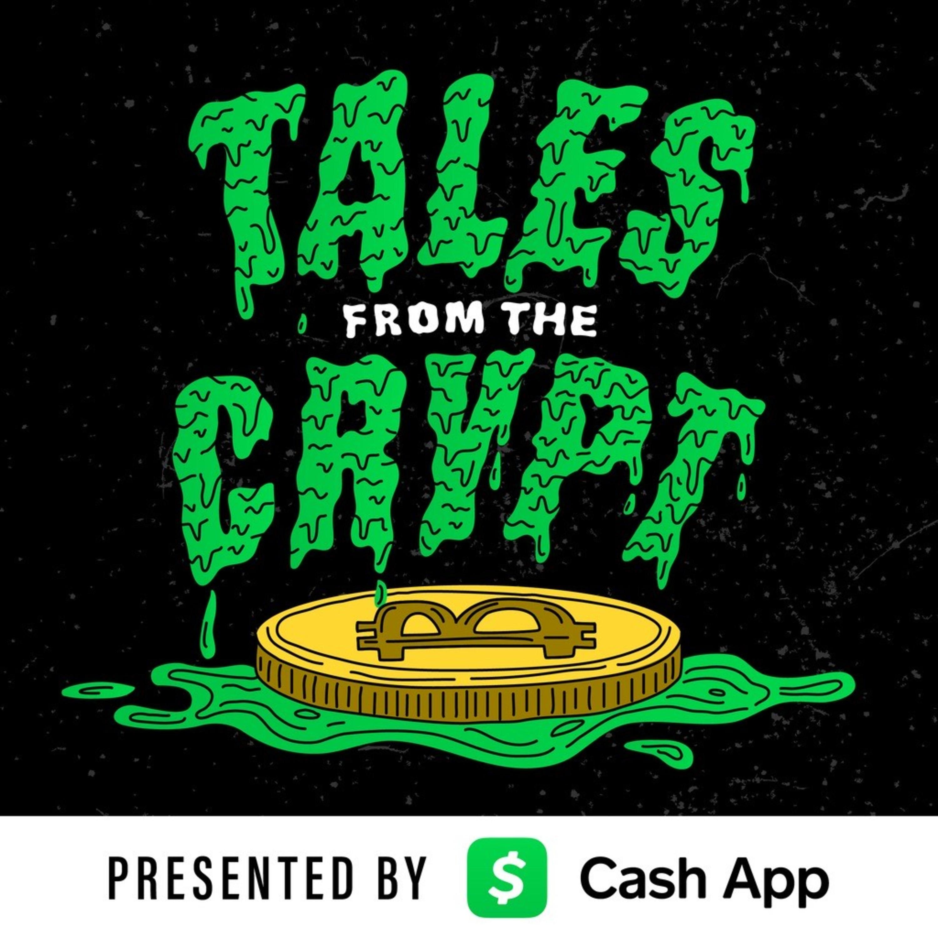 Artwork for Tales from the Crypt #123: Bitcoin Sign Guy on Urbit