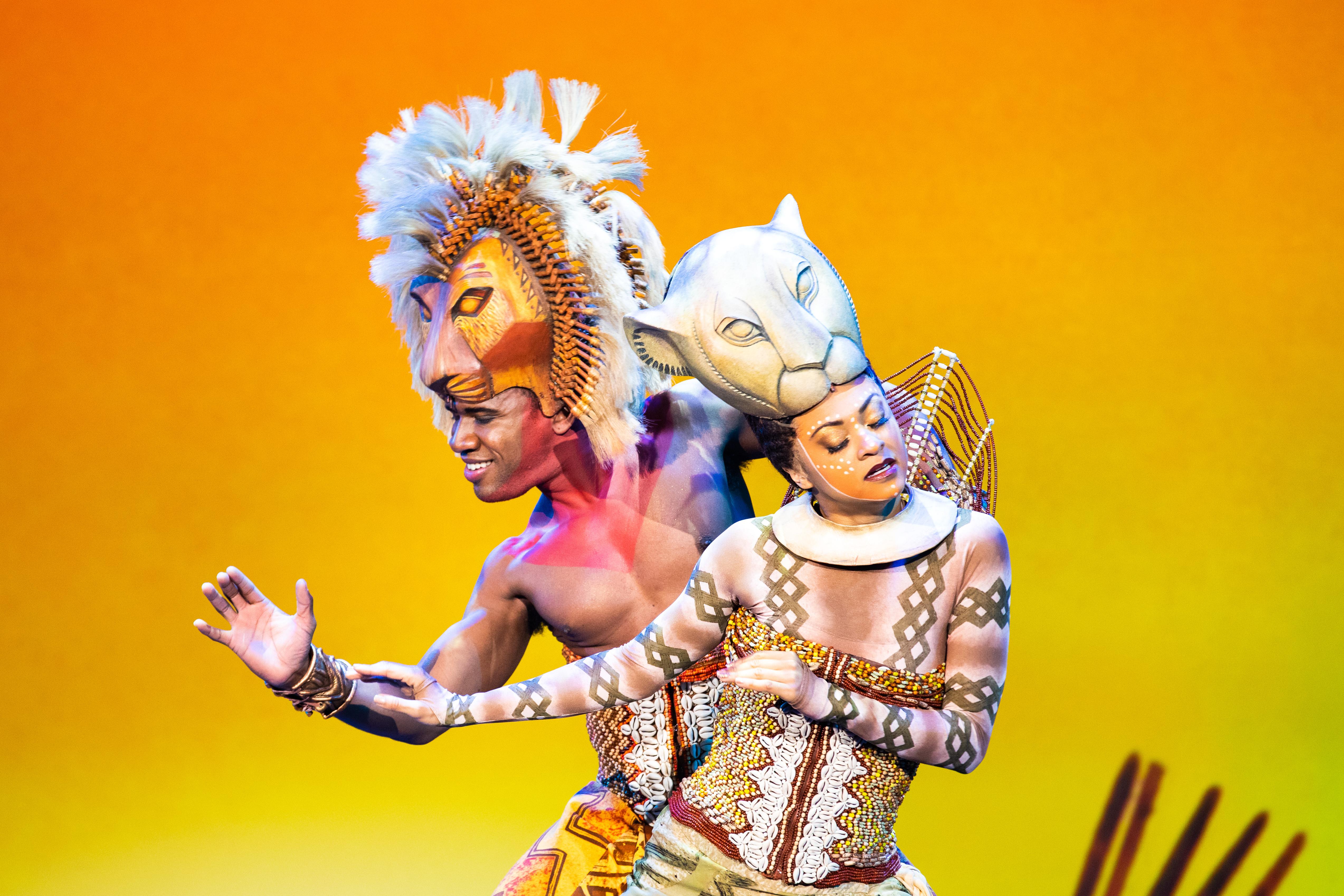 SImba+ Nala: Simba played by Dashaun Young / Photo by Dina Douglass