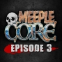 Artwork for MeepleCore Podcast Episode 3 - Kickstarter good or bad for the hobby, is using dice in combat too random, Jessica Nigri and the Lexington Comic and Toy convention, and much more...