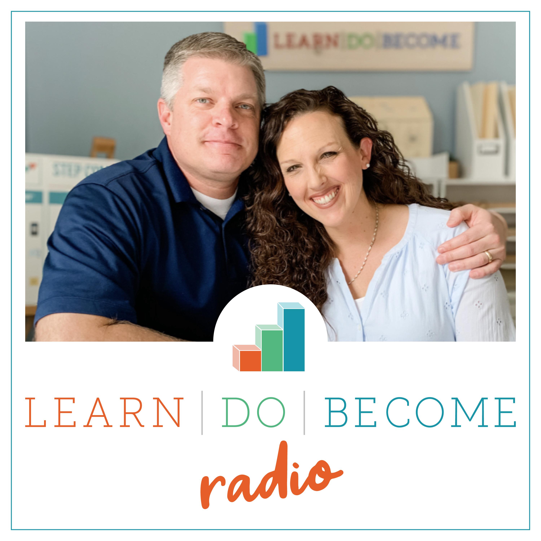 LearnDoBecome Radio show art