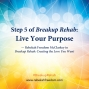 Artwork for Step 5 Breakup Rehab - Live Your Purpose