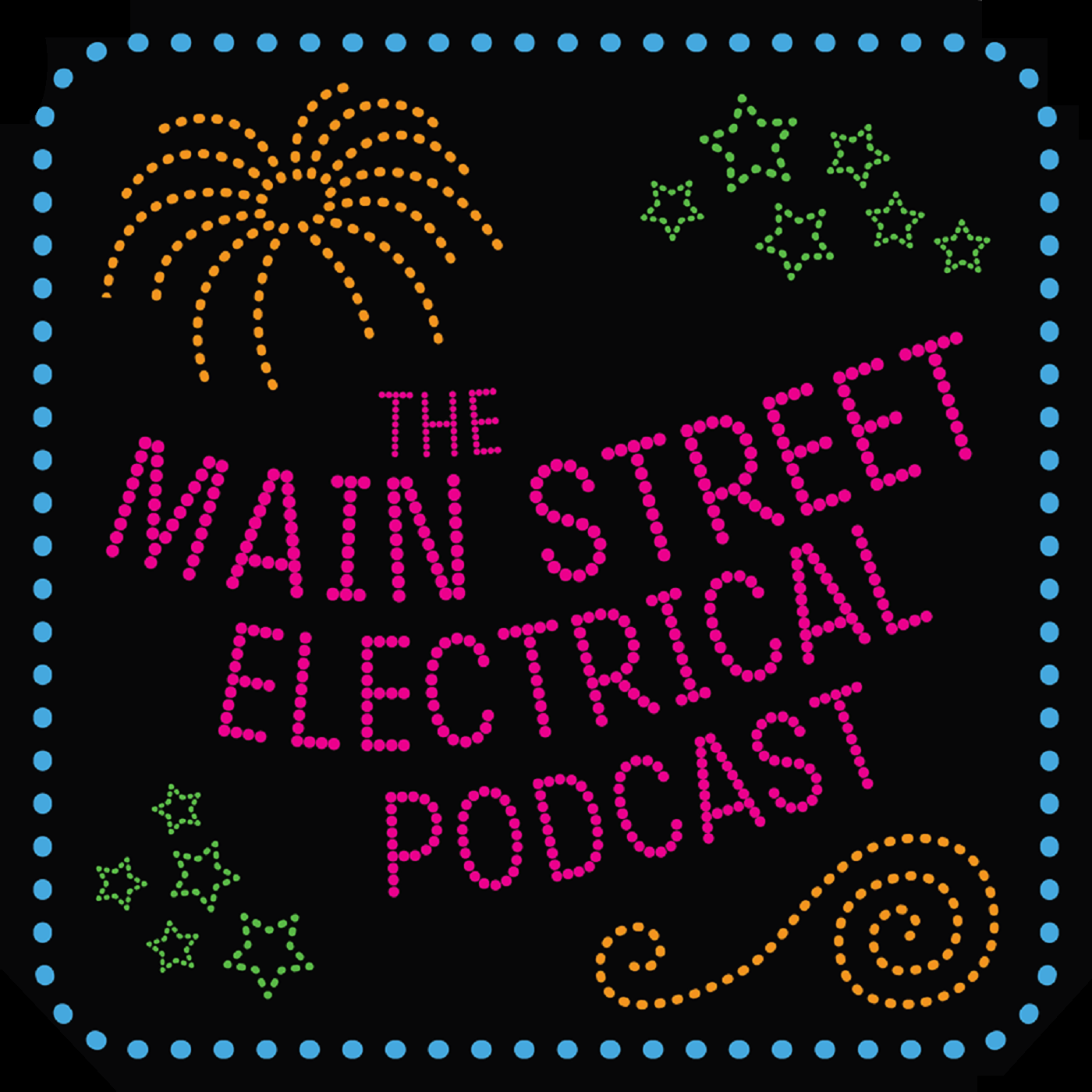 The Main Street Electrical Podcast show art