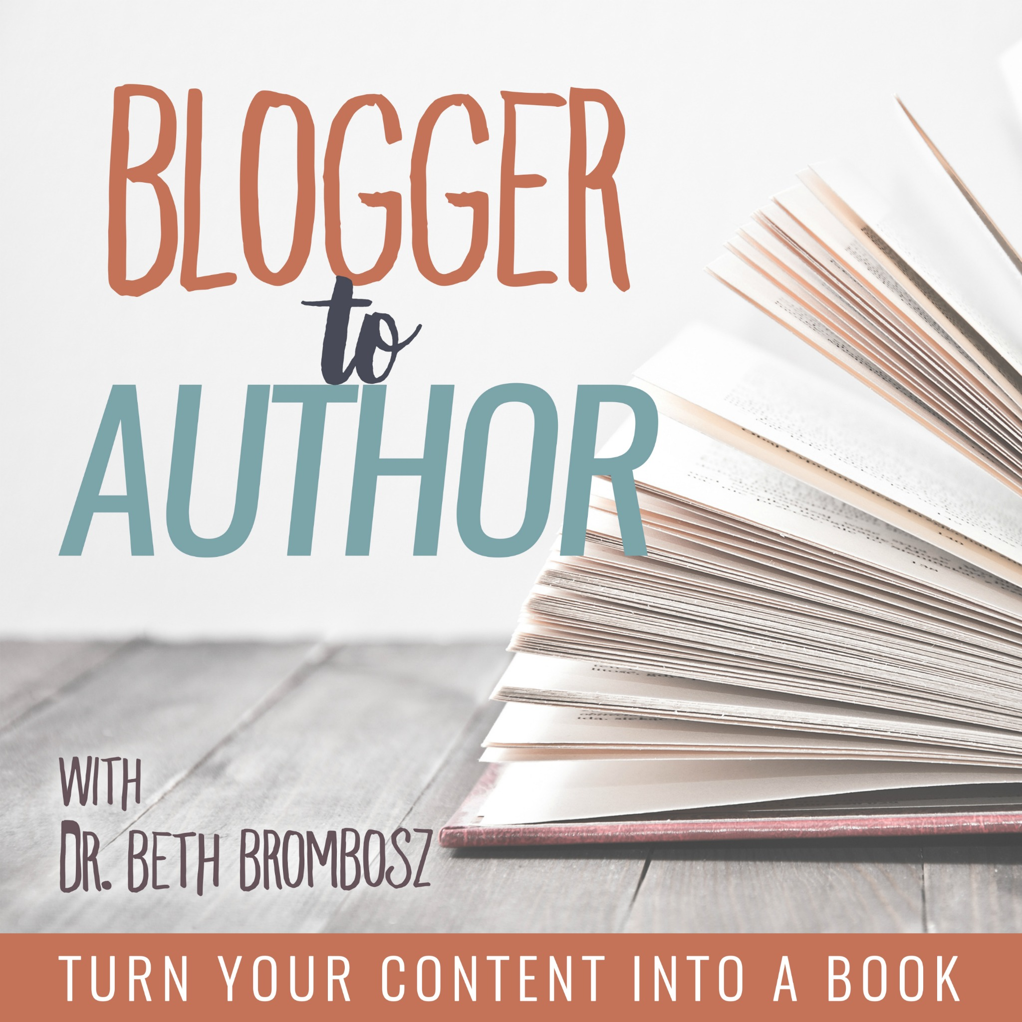 Artwork for B2A #12: Getting Started with Traditional Publishing with Debbie Reber