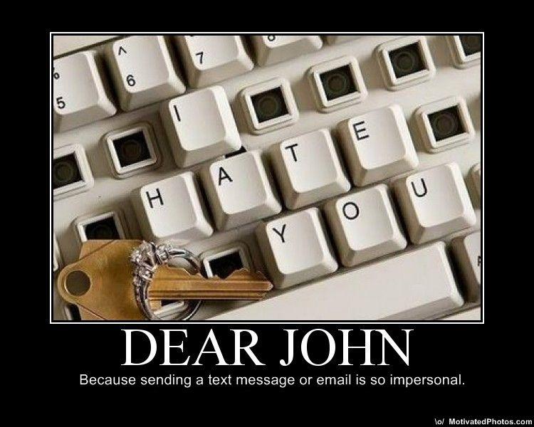 337 - Dear John