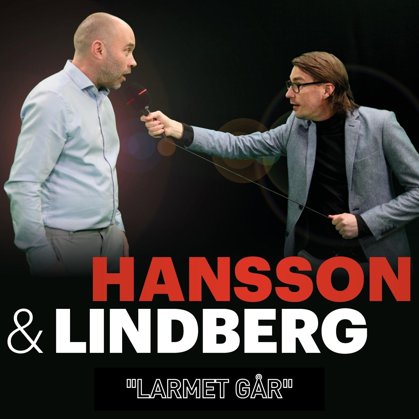 "3. Hansson & Lindberg - ""Larmet går"""