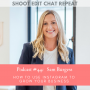 Artwork for #44  Sam Burgess: How to use Instagram to grow your business