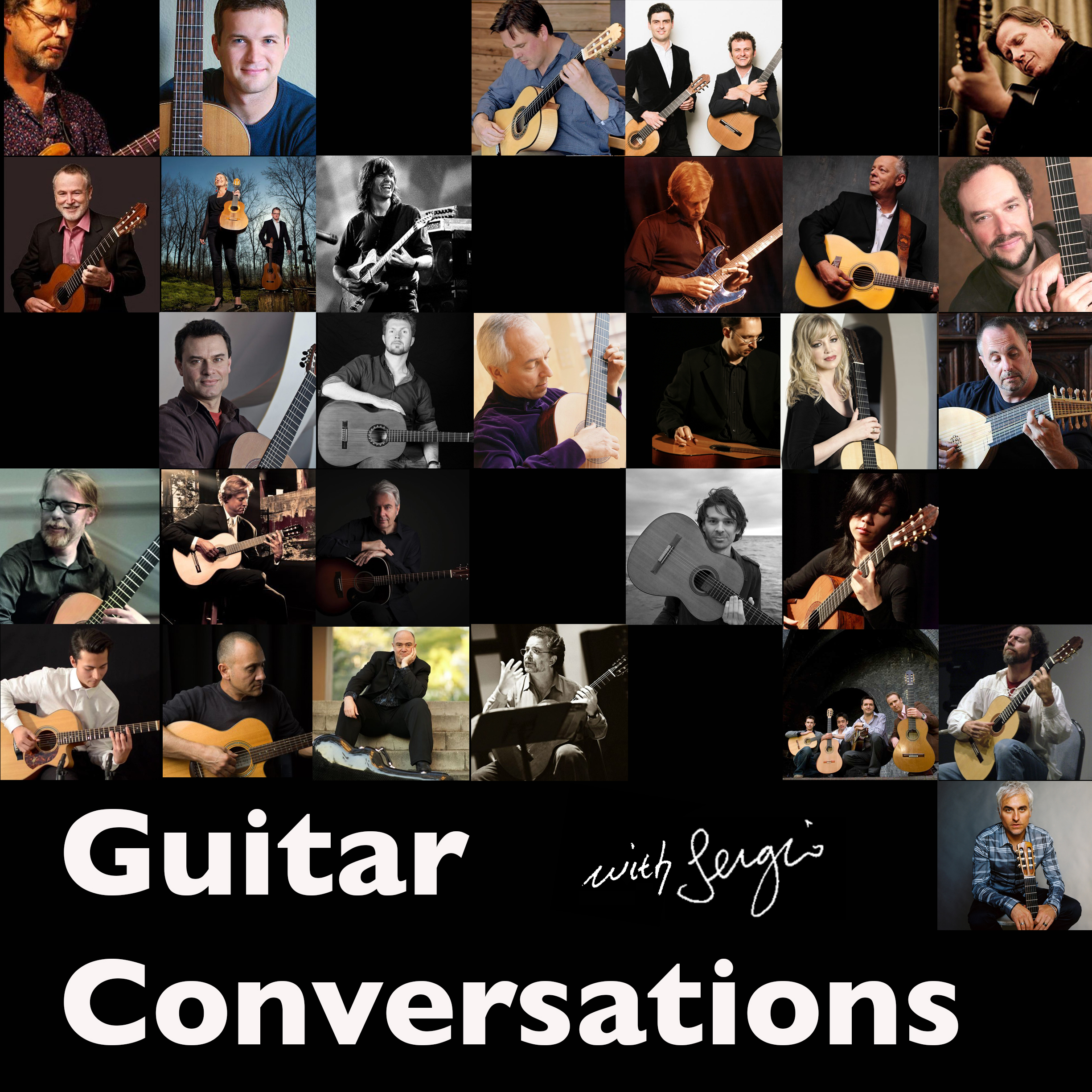 Guitar Conversations Podcast show art
