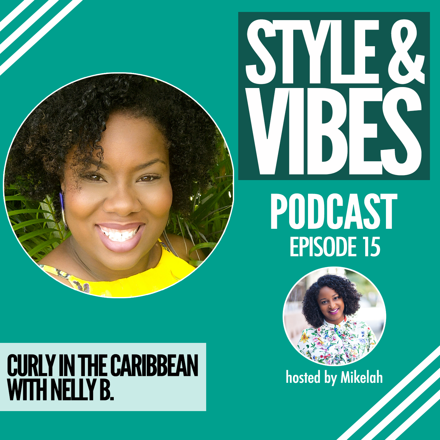 Curly in the Caribbean with Nelly B