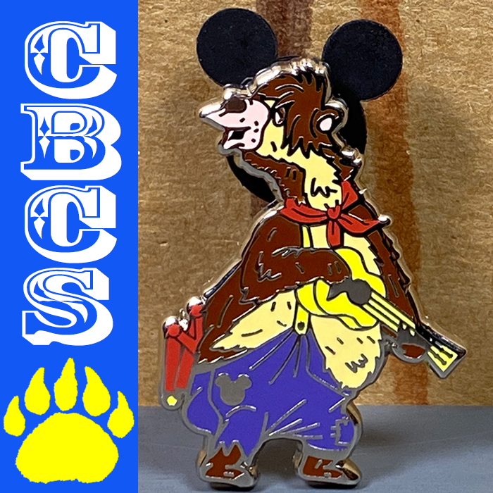Artwork for 2019 Walt Disney World Liver Lips Hidden Mickey Pin - CBCS #233