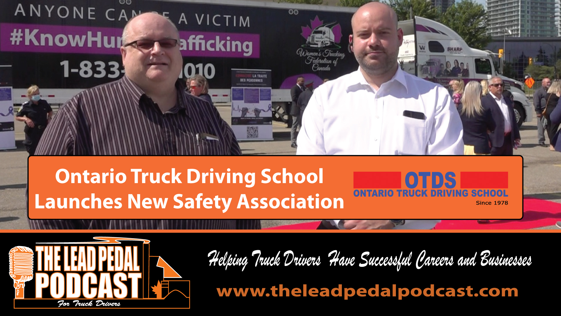 Ontario Truck Driving School Launches New Safety Association