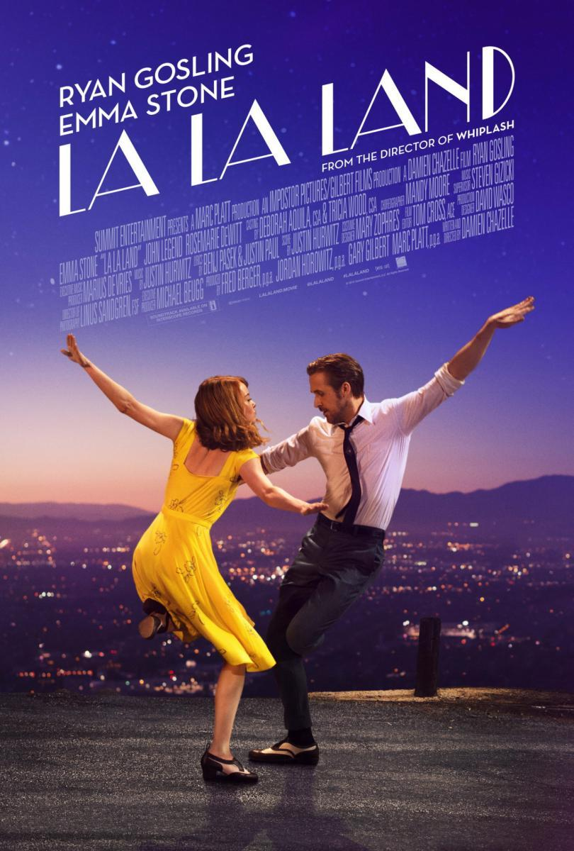 "Artwork for ""La La Land"" an audio film review by Alan Jacobson"