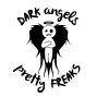 """Artwork for DAPF #268. Dark Angels & Pretty Freaks #Podcast #268 """"Private Part Voices"""""""