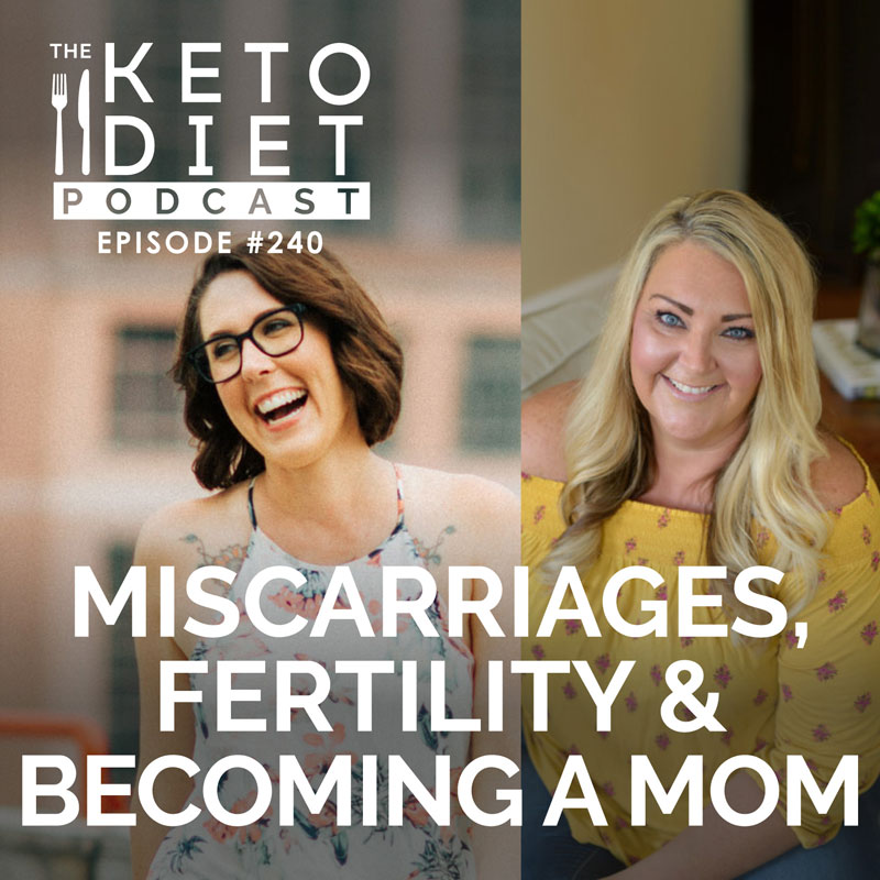 #240: Miscarriages, Fertility & Becoming a Mom with Jessica Dukes {@dailyketosis}