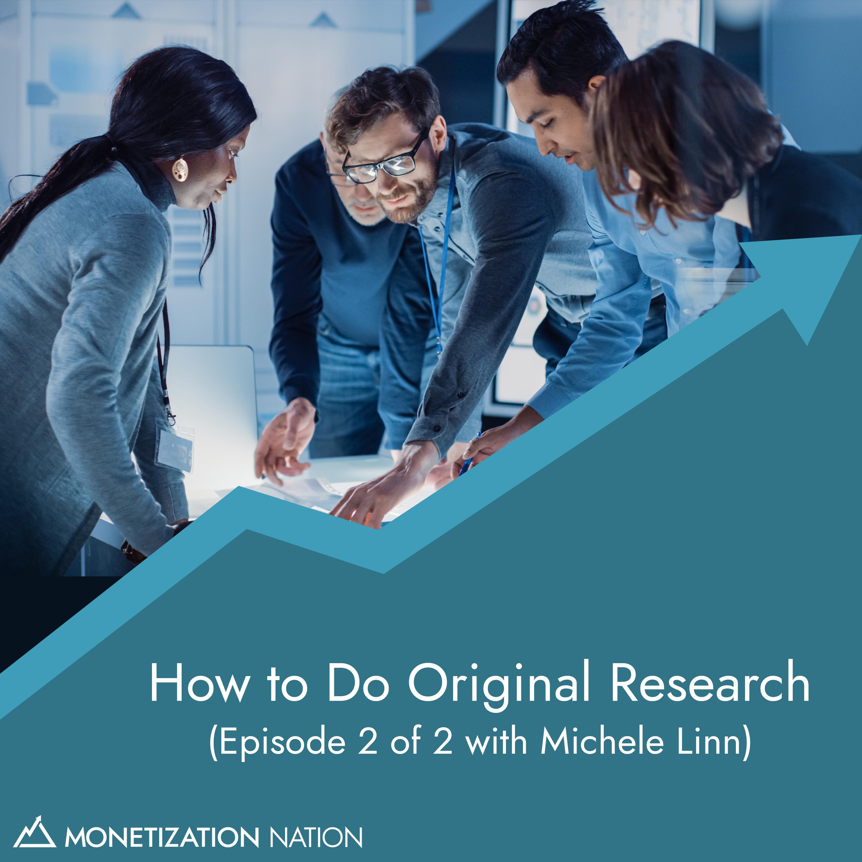 131. How to Do Original Research
