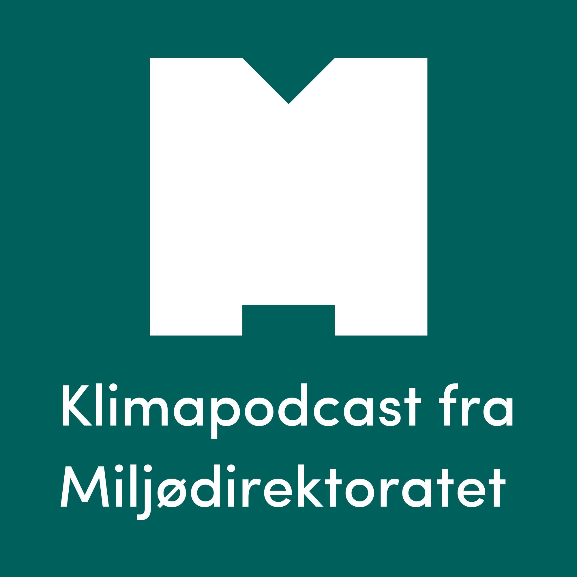 Klimapodcast fra Miljødirektoratet show art