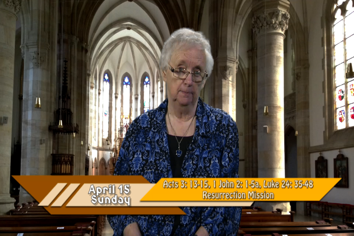 Artwork for iGod Today with Sr. Pat Phillips, SHCJ; Today's topic:  Resurrection Mission