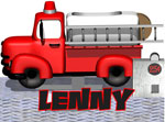 For Lenny – The Happy Fire Truck