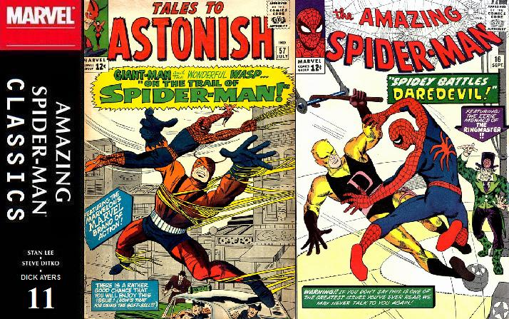 011 ASM Classics - Tales to Astonish 57 and Amazing Spider-Man 16