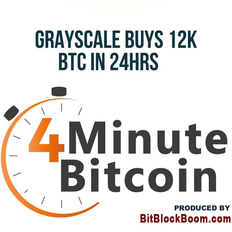 Grayscale Buys 12K Bitcoin in 24 Hours