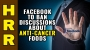 Artwork for Facebook to BAN discussions about anti-cancer foods