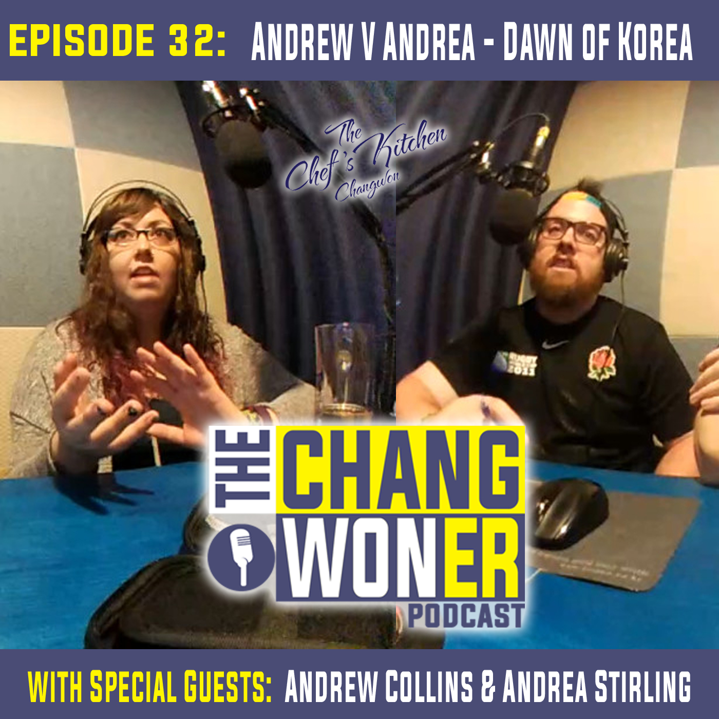 Artwork for After A Year of Living in South Korea -guests Andrew Collins and Andrea Stirling (Ep 32)
