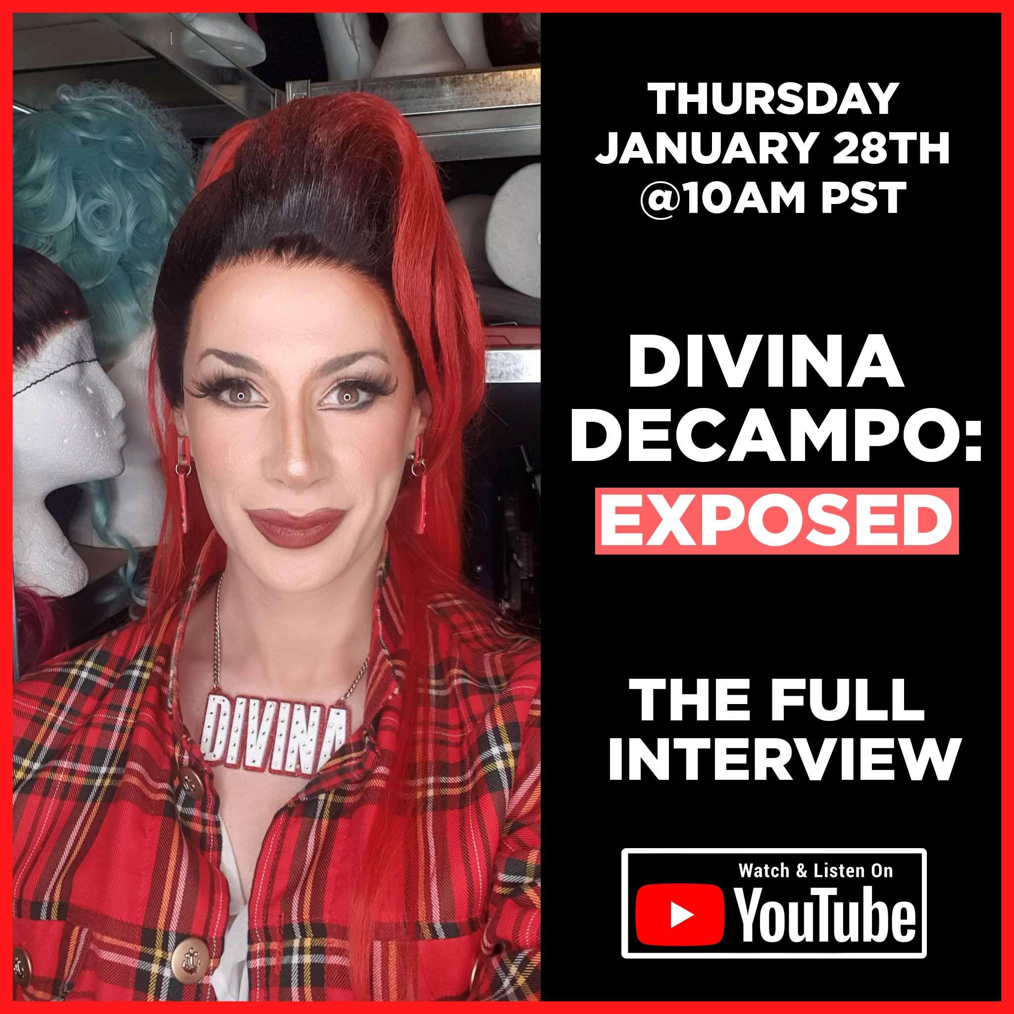 S3E3 - Divina De Campo: Exposed (The Full Interview)