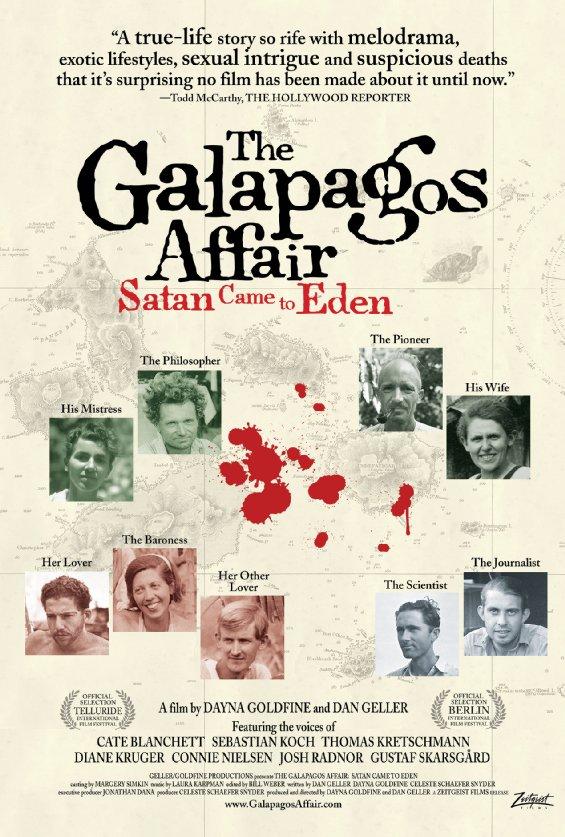 Ep. 84 - The Galapagos Affair: Satan Came To Eden (The Mosquito Coast vs. The Beach)