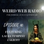 Artwork for Episode 40 - Laura Tempest Zakroff Talking Modern Traditional Witchcraft, Sigils, Events, and The Liminal