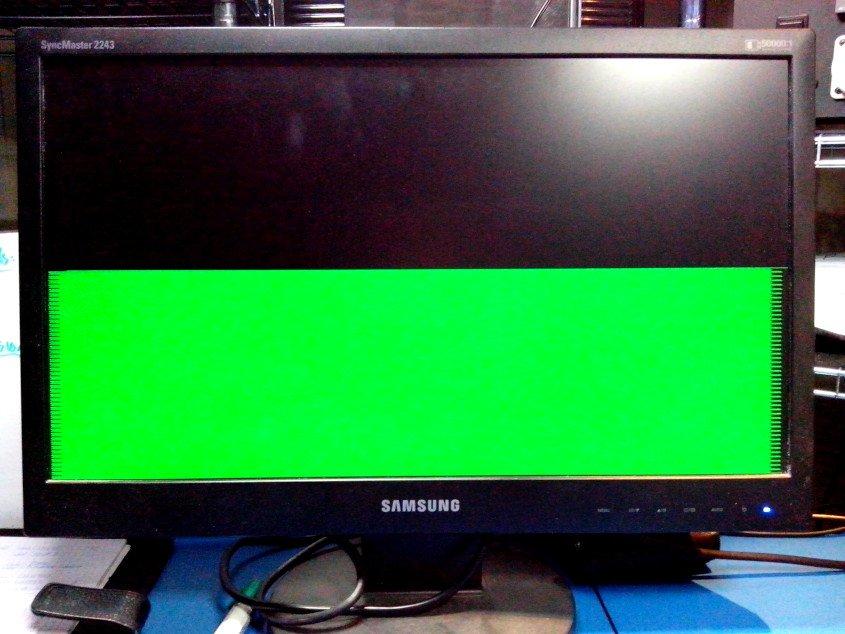 VGA screen