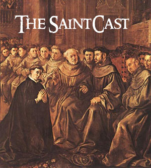 SaintCast#14, St. Bonaventure, Eucharistic Congress, CA mission soundseeing, John the Baptists hand, audiofeedback 312-235-2278