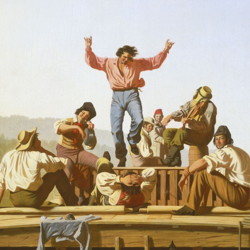 George Caleb Bingham's Rivers