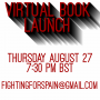 Artwork for Announcement: Free Virtual Book Launch 27th August