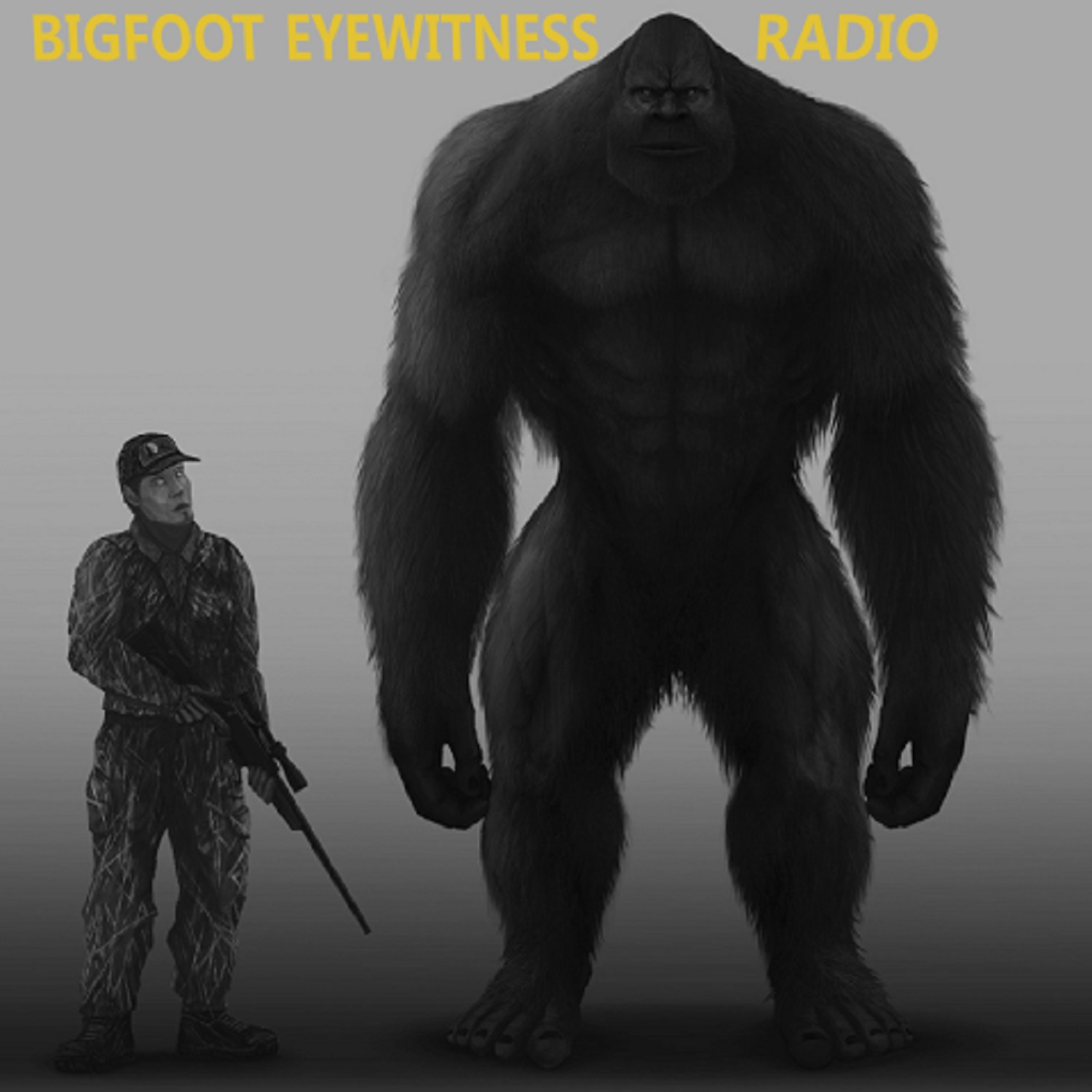 Bigfoot Eyewitness Radio show art