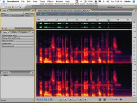 Using SoundBooth to clean up audio from Premiere Pro CS3