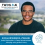 Artwork for Safer Exploration in Deep Reinforcement Learning using Action Priors with Sicelukwanda Zwane - TWiML Talk #235