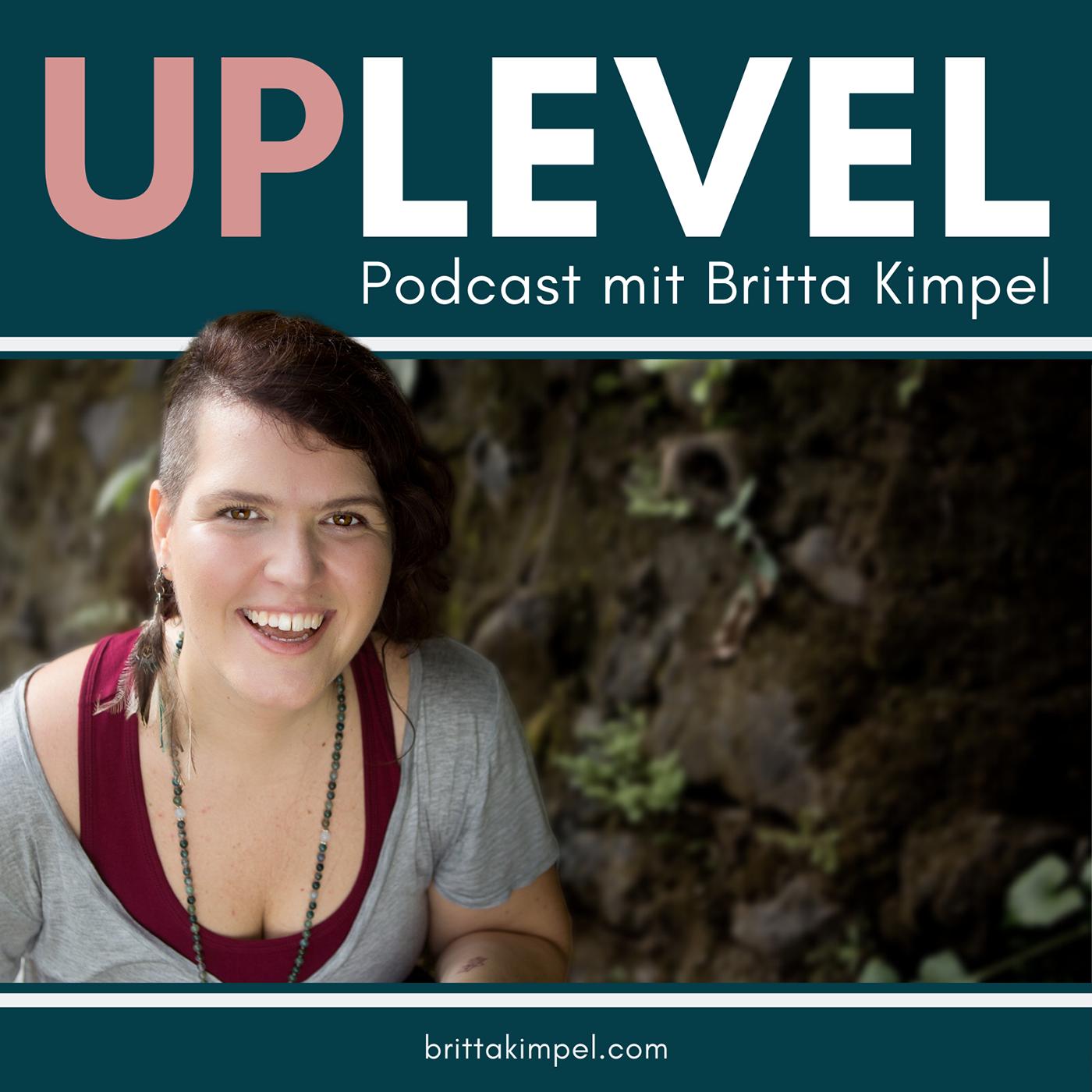 UPLEVEL Podcast show art