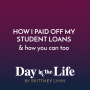 Artwork for MINI-SODE | How I Paid Off My Student Loans & How You Can Too