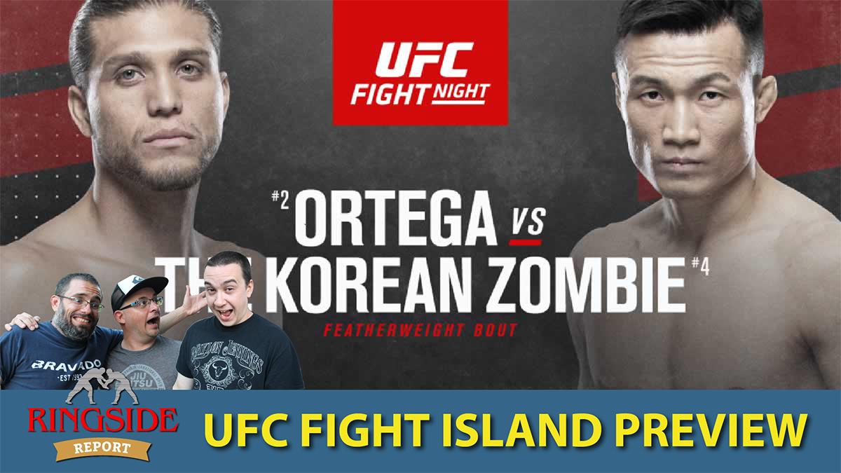 Ringside Report October 15: Zombie v. Ortega preview