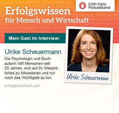 Im Gespräch mit Ulrike Scheuermann - Teil 2