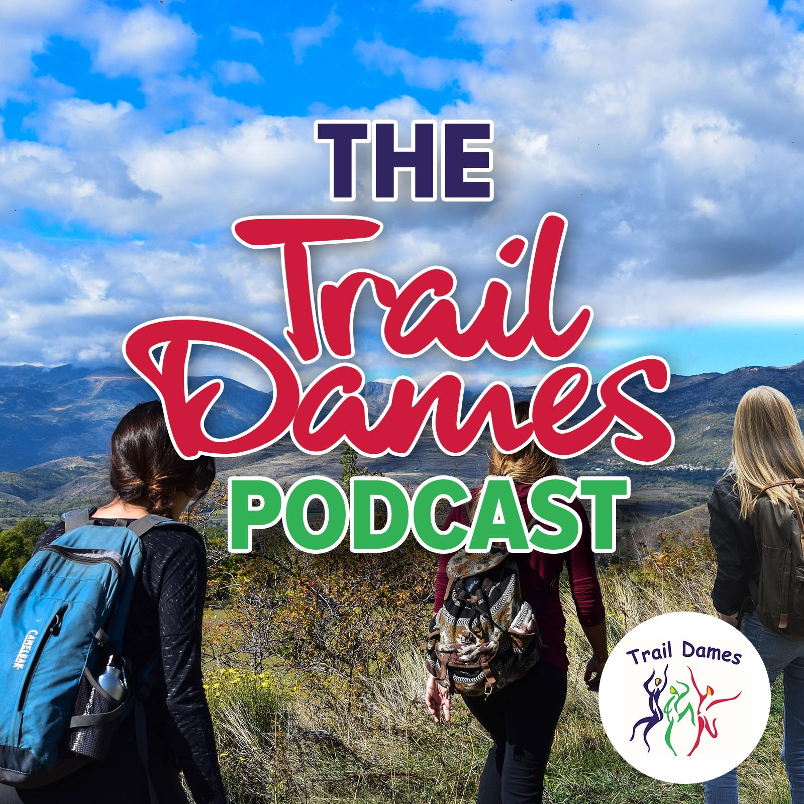 The Trail Dames Podcast show art