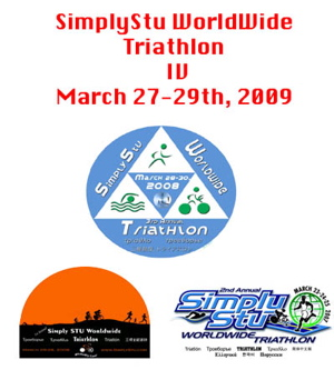 Fouth Annual SimplyStu Worldwide Triathlon date announced