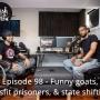 Artwork for Episode 98 - Funny goats, misfit prisoners, & state shifting