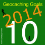 Artwork for Geocaching Goals For 2014 - OBGCP10