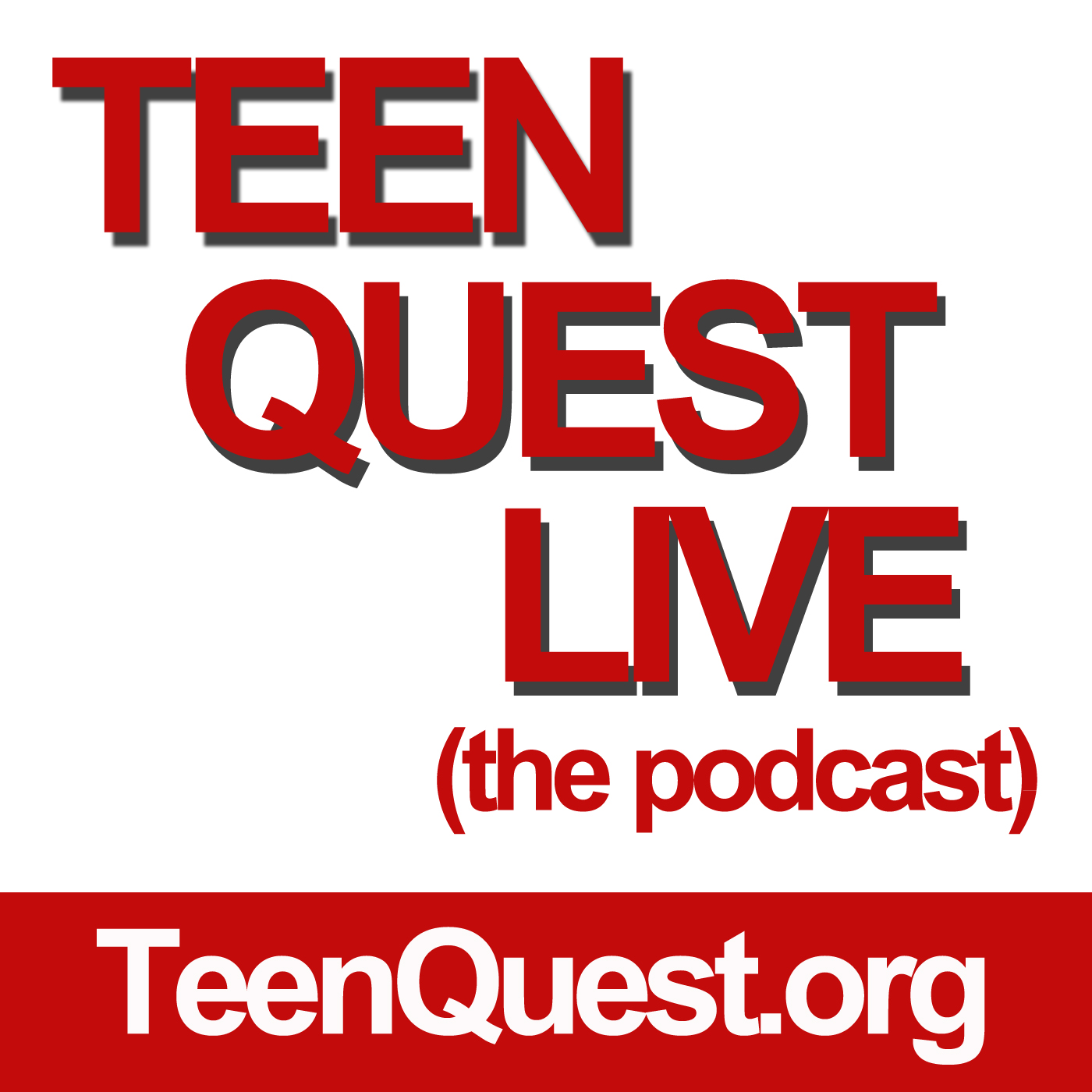 Teen Quest Live | Youth Ministry Podcast show art