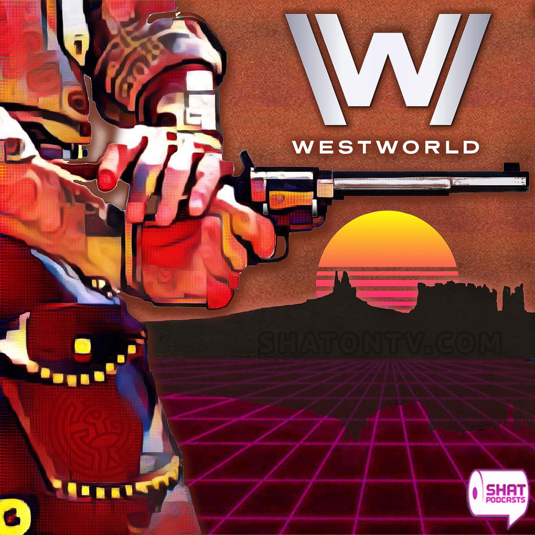 Westworld show art